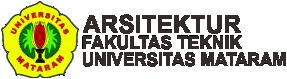 Arsitektur – Fakultas Teknik – Universitas Mataram Logo